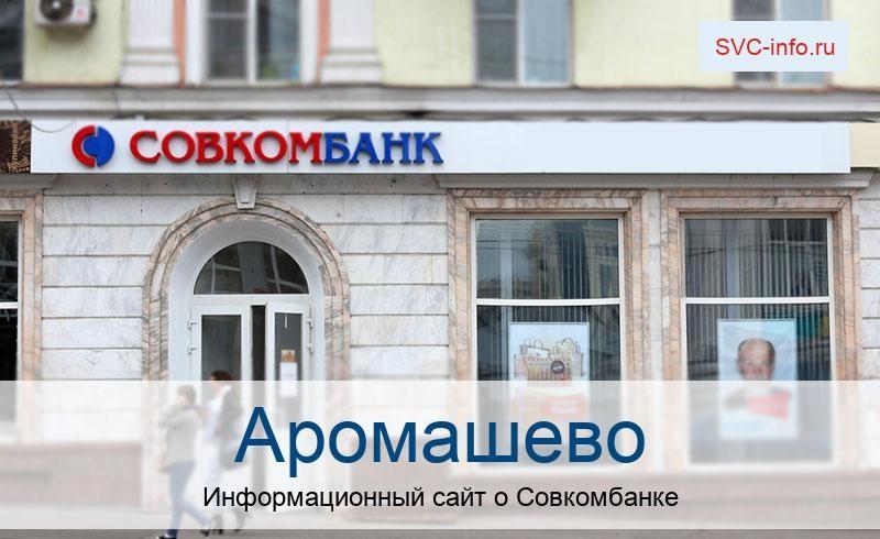 Банкоматы и отделения в городе Аромашево