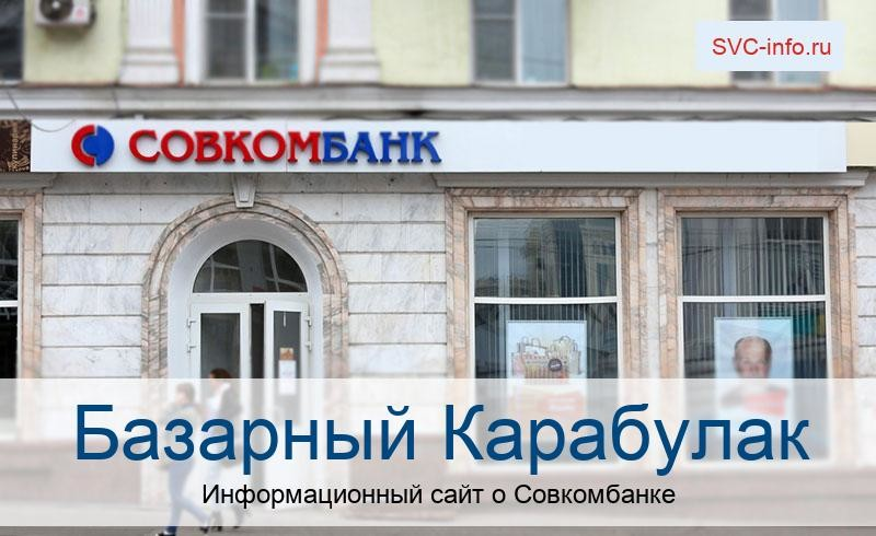 Банкоматы и отделения в городе Базарный Карабулак