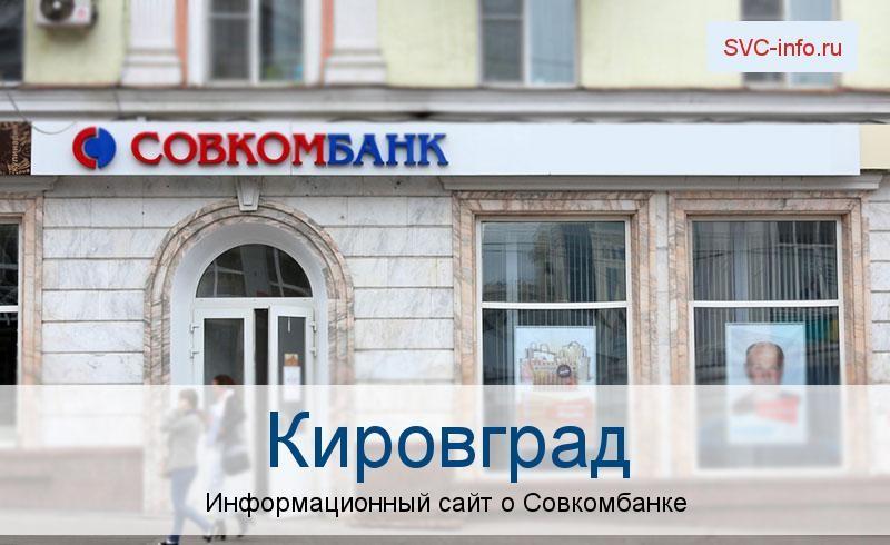 Банкоматы и отделения в городе Кировград