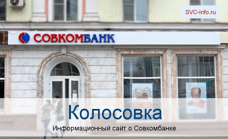 Банкоматы и отделения в городе Колосовка