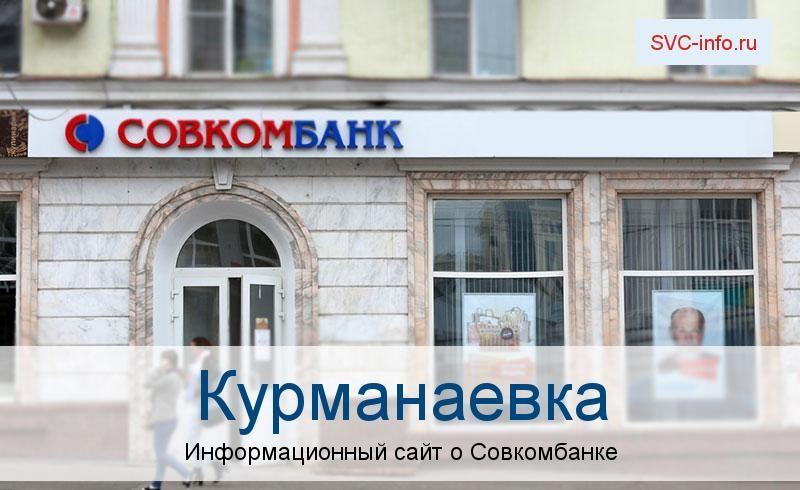 Банкоматы и отделения в городе Курманаевка