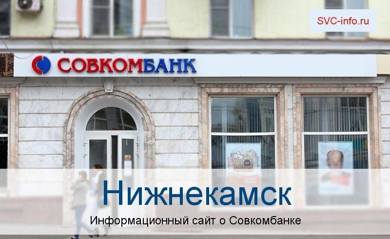 Банкоматы и отделения в городе Нижнекамск