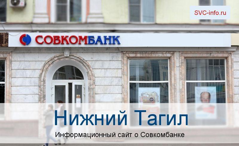 Банкоматы и отделения в городе Нижний Тагил