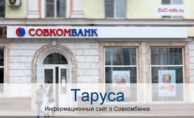 Банкоматы и отделения в городе Таруса