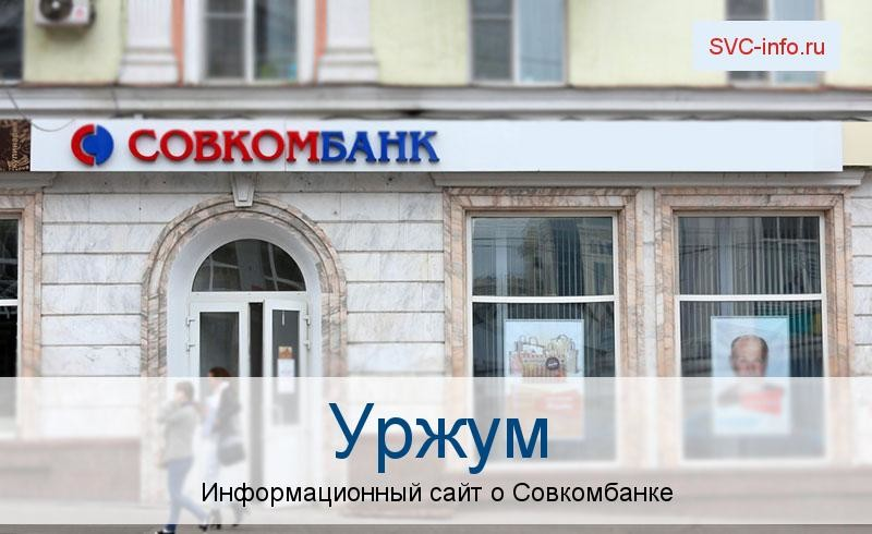 Банкоматы и отделения в городе Уржум